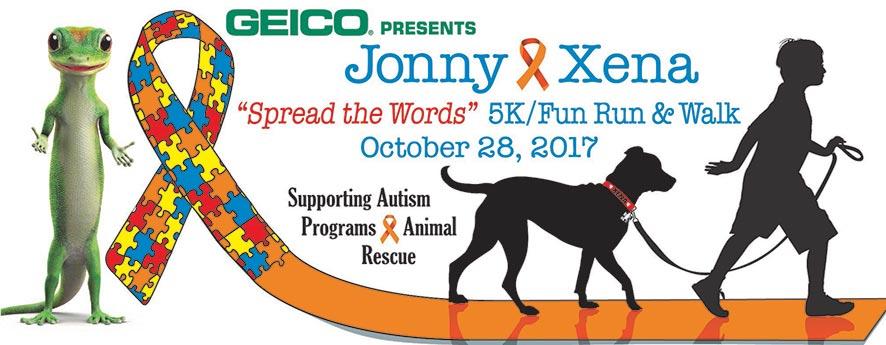 Geico Jonny Xena 5K Race