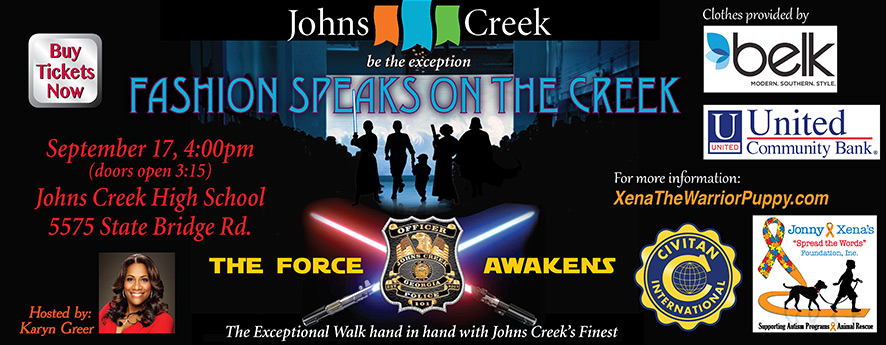 Fashion Speaks on Creek Banner 2017